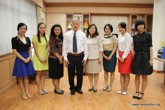 农业大学孔子学院拜访泰国文官委员会