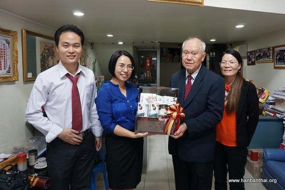 农业大学孔子学院拜访华文教师公会罗宗正主席