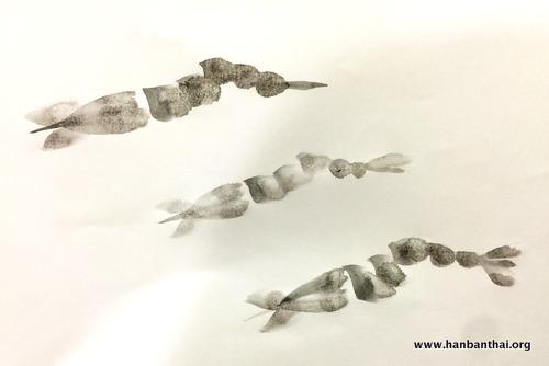 国画《画虾》教学步骤分享